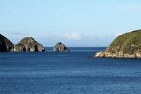 Nog een uitzicht voordat we definitief de baai uitvaren