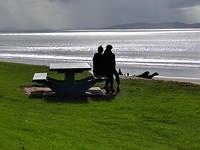 Uitzicht over Cable Bay