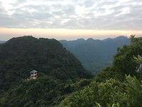 Uitzicht op het National Park