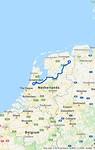 Van Veendam naar Schiphol