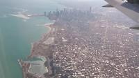 Vlucht boven Chicago