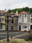 karakteristieke Franse huizen.