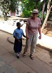 At Likoni School for the Blind.