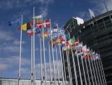 vlaggen bij europarlement