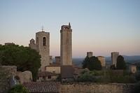 San Gimignano bij avondlicht