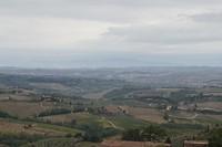 Toscane, weer vanaf het hoogste punt gezien