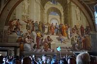 Dubbele drukte in de Stanzen van Raphael