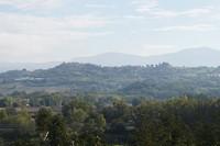 Het ligt er allemaal heerlijk bij in Umbrië.