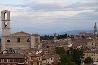De wonderschone stad Perugia