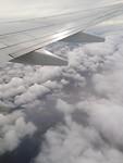 Achter de wolken.....