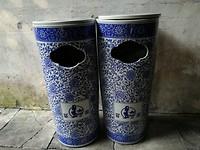 Vuilbakken uit de Ming dynasty?