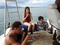 Terugreis op de boot
