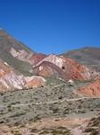 7 kleurige berg