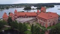Kasteel in Trakai Litouwen