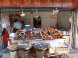 Eetkraampje in de straten van Lanzhou