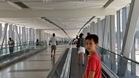 Alles luxe , alles airco, heel veel loopbanden tussen metrostation en winkelcentrum (Dubai Mall)