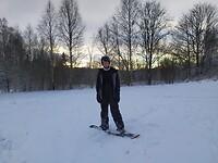 snowboard proberen voor de eerste keer