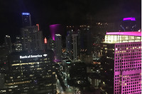 Uitzicht vanaf het W hotel