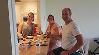 Dag 9 - Lunchen in het appartement