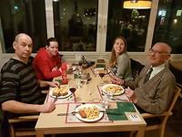 22 december - Eten met opa