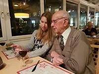 22 december - Eten met opa (2)