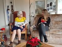 23 december - Even bij oma
