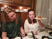25 december - Gourmetten bij oma (2)