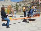 Inclusieve speelplek in La Paz