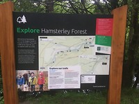 Overnachting Hamsterley Forest