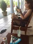 cocktails en WiFi, de moderne vakantie