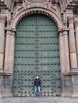 Grote deur of is Bert klein?