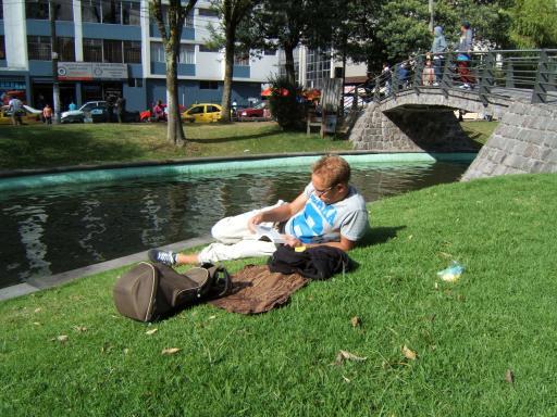 zondagmiddag in Quito