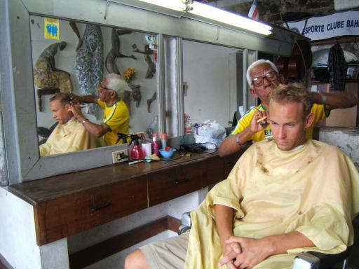 Jop bij de kapper_Salvador