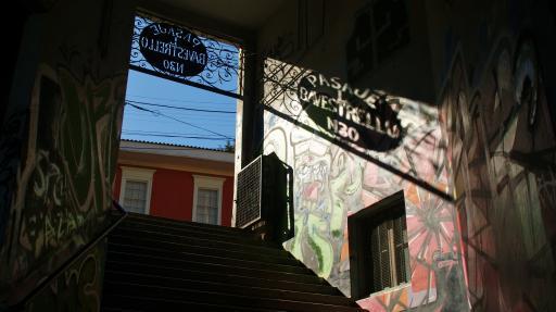 Pasaje Bavestrello in Valparaiso