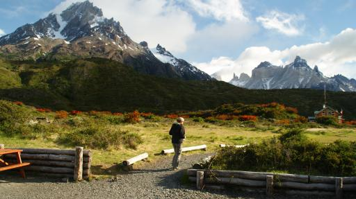 op weg voor dag 4 in Torres del Paine