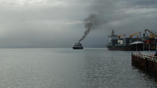 cruiseboot op weg naar Antarctica_Ushuaia