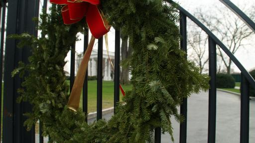 kerst in the white house