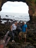 Met zijn drietjes bij Pintu Kota
