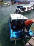 Met prive speedboot naar Saparua