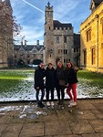 Magdalen College with Noèmie, Anna & Annica.
