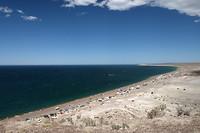 Het strand van Puerto Madryn