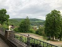 Het uitzicht vanuit het restaurant