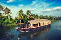 Natuurschoon in Kerala en Backwaters