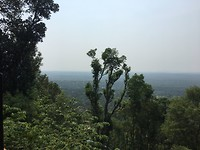 Uitzicht mountain locatie AYV