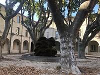 Binnenhof in Avignon