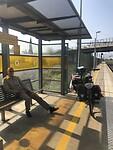 Uurtje wachten op de trein