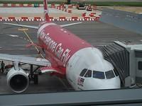Het vliegtuig naar Borneo