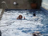 Nog even zwemmen