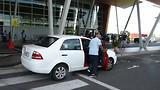 Hoe ze in Sandakan taxies verzetten