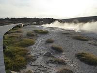 Hot spring field